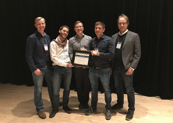 Two awards at premier conference for cyber-physical systems